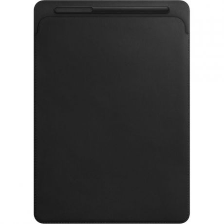 Чехол для iPad Pro 12.9 Apple Leather Sleeve Black
