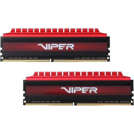 Модуль памяти DIMM 8Gb 2х4Gb DDR4 PC24000 3000Mhz Patriot Viper 4 Series (PV48G300C6K)