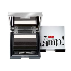 PUPA PUPA Тени Vamp! Palette 4 - Eyeshadow Palette Liquid Powder Effect № 001 Дымчатый черный