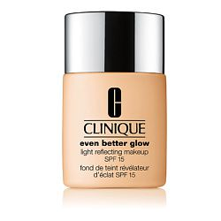 CLINIQUE CLINIQUE Тональный крем, придающий сияние Even Better Glow Light Reflecting Makeup SPF 15 WN 22 Ecru