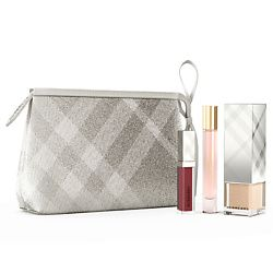 BURBERRY BURBERRY Макияжный набор в косметичке Burberry beauty Festive 2017 Burberry beauty POUCH
