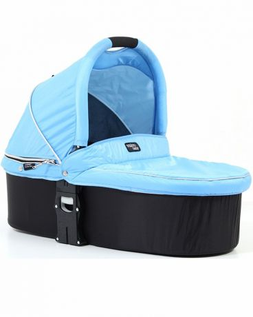 Люлька Valco baby Q Bassinet для колясок Trimod X/Snap 4 Ultra/Quad X(powder blue)