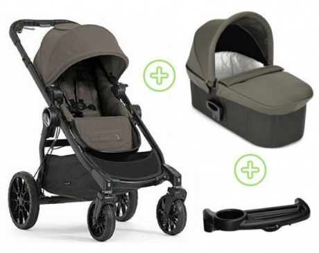 Коляска 2-в-1 Baby Jogger City Select Lux (набор 1/taupe)