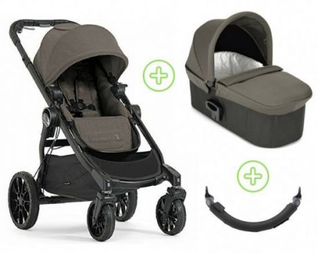 Коляска 2-в-1 Baby Jogger City Select Lux (набор 2/taupe)