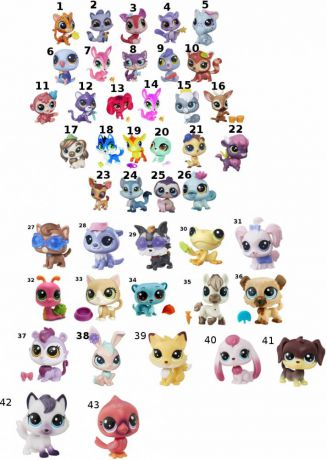 Игрушка Hasbro Littlest Pet Shop a8229