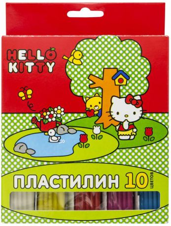 Пластилин Action! Hello Kitty 10 цветов hko-amc10-200-2