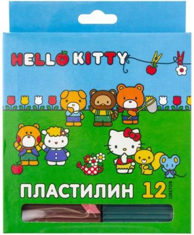 Пластилин Action! Hello Kitty 12 цветов hko-amc12-240-2