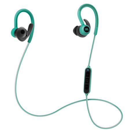 Спортивные наушники Bluetooth JBL Reflect Contour Green (JBLREFCONTOURTEL)