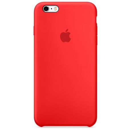 Чехол для iPhone Apple iPhone 6s Plus Silicone Case Red