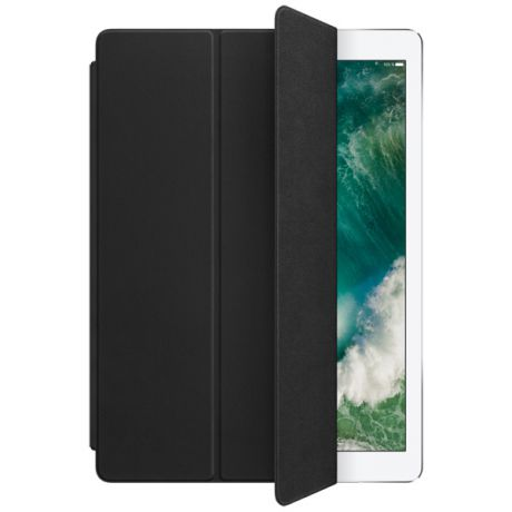 Кейс для iPad Pro Apple Leather Smart iPad Pro 12.9 Black (MPV62ZM/A)