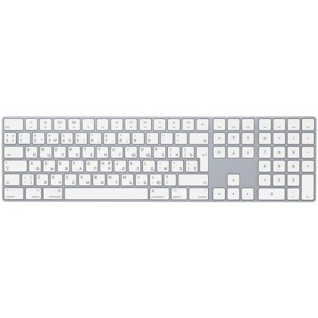 Клавиатура беспроводная Apple Magic Keyboard with Numeric Keypad (MQ052RS/A)