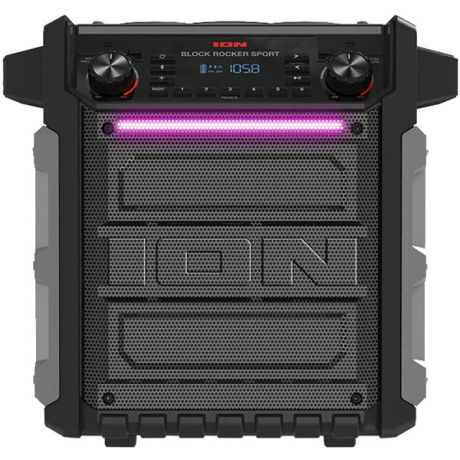 Музыкальный центр Mini ION Audio Block Rocker Sport
