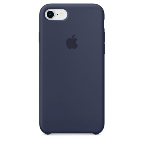 Чехол для iPhone Apple iPhone 8 / 7 Silicone Midnight Blue (MQGM2ZM/A)