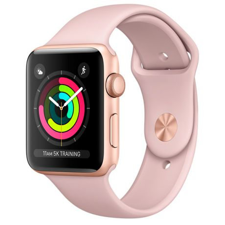 Смарт-часы Apple Watch S3 Sport 42mm Gl Al/Pink SandBand MQL22RU/A