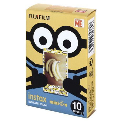 Картридж для фотоаппарата Fujifilm INSTAX MINI MINION Гадкий Я