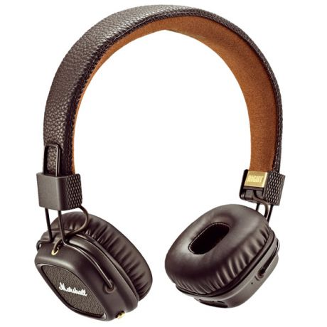 Наушники Bluetooth Marshall Major II Bluetooth Brown
