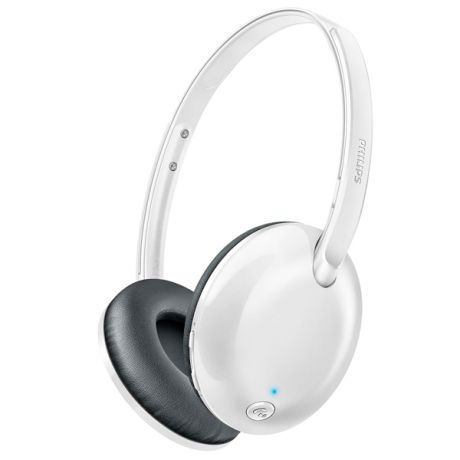 Наушники Bluetooth Philips Flite Ultrlite White (SHB4405WT/00)