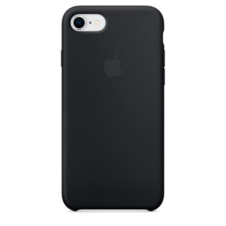 Чехол для iPhone Apple iPhone 8 / 7 Silicone Case Black (MQGK2ZM/A)