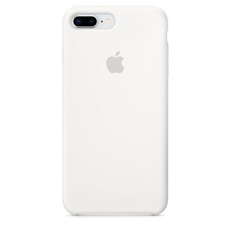 Чехол для iPhone Apple iPhone 8 Plus / 7 Plus Silicone White (MQGX2ZM/A)