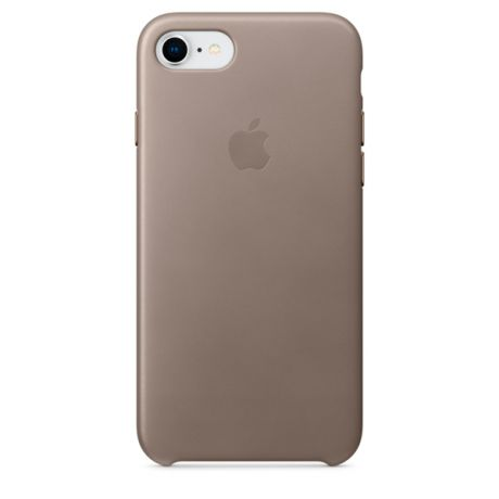Чехол для iPhone Apple iPhone 8 / 7 Leather Case Taupe (MQH62ZM/A)