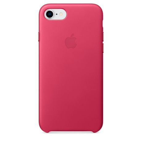 Чехол для iPhone Apple iPhone 8 / 7 Leather Pink Fuchsia (MQHG2ZM/A)