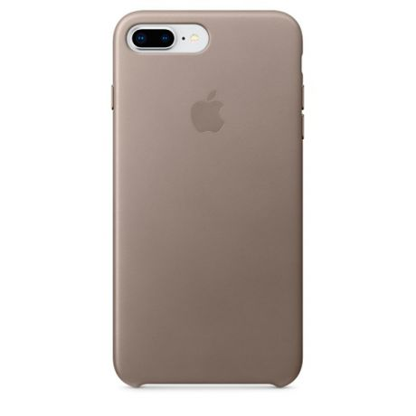 Чехол для iPhone Apple iPhone 8 Plus / 7 Plus Leather Taupe (MQHJ2ZM/A)