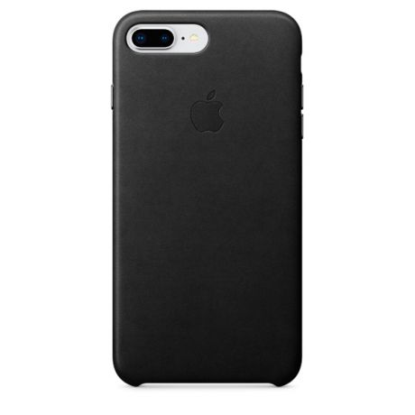 Чехол для iPhone Apple iPhone 8 Plus / 7 Plus Leather Black (MQHM2ZM/A)