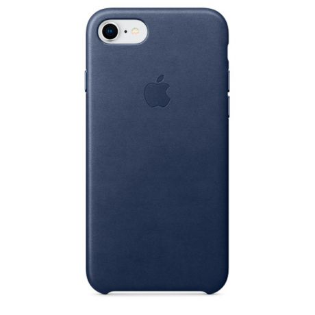 Чехол для iPhone Apple iPhone 8 / 7 Leather Midnight Blue (MQH82ZM/A)