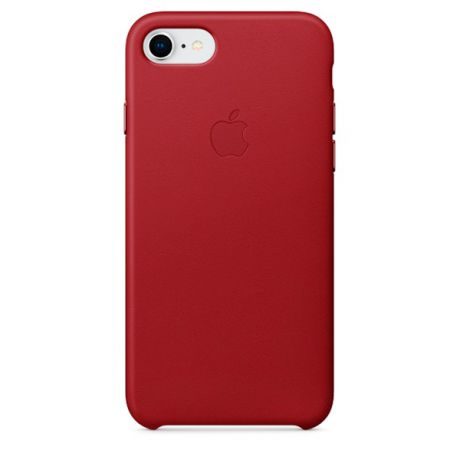 Чехол для iPhone Apple iPhone 8 / 7 Leather (PRODUCT)RED (MQHA2ZM/A)