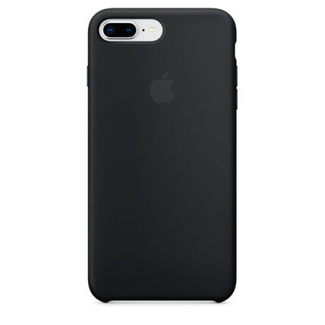 Чехол для iPhone Apple iPhone 8 Plus / 7 Plus Silicone Black (MQGW2ZM/A)