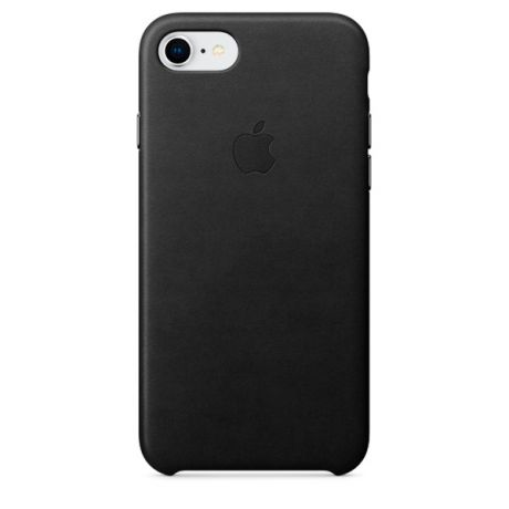 Чехол для iPhone Apple iPhone 8 / 7 Leather Case Black (MQH92ZM/A)
