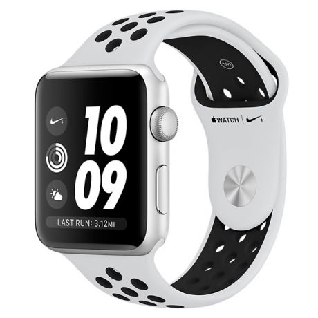 Смарт-часы Apple Watch Nike+ 42mm Silver Al/Bl Nike Band MQL32RU/A