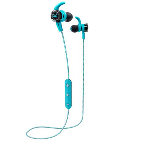 Спортивные наушники Bluetooth Monster iSport Victory Blue (137087-00)
