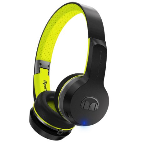 Спортивные наушники Bluetooth Monster iSport Freedom Black/Green (137097-00)
