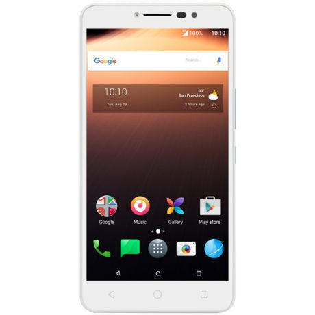 Смартфон Alcatel A3 XL White+Alcatel Blue/ White TP (9008D)