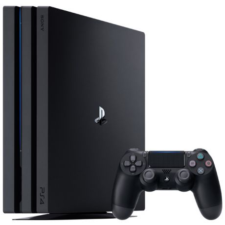Игровая консоль PlayStation 4 Pro 1TB Black (CUH-7108B)