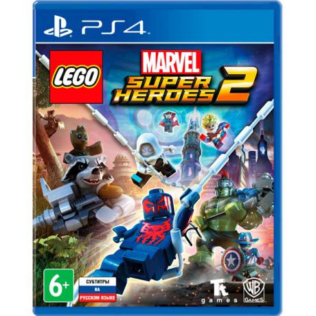 Видеоигра для PS4 . LEGO Marvel Super Heroes 2