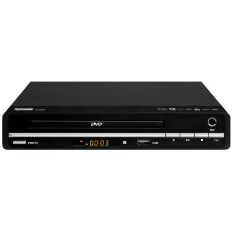 DVD-плеер Telefunken TF-DVD5100 Black