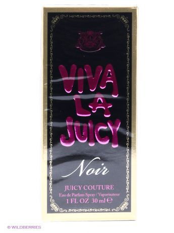Парфюмерная вода Juicy Couture Juicy Couture Viva Noir Ж Товар Парфюмерная вода 30 мл