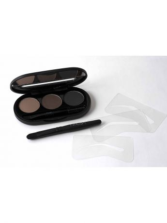 "Тени NOUBA Набор теней для бровей""Eyebrow Powder Kit"" 01, 8г"