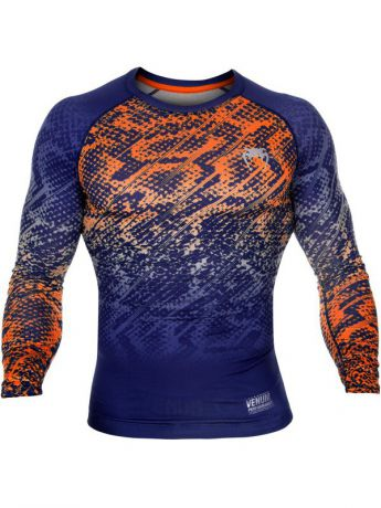 Рашгарды Venum Рашгард Venum Tropical Black/Orange L/S