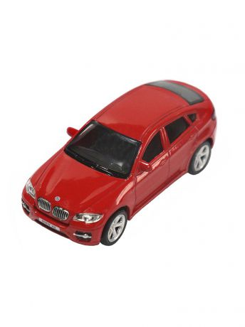 Машинки Pit Stop Машинка BMW X6, Красная (1:43) (PS-444002-R)