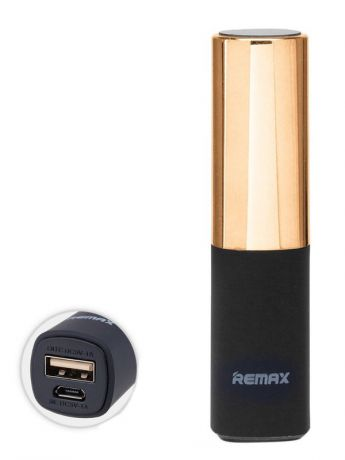 Внешние аккумуляторы REMAX Power Bank 2400 mAh Remax RPL - 12 Lipmax Gold