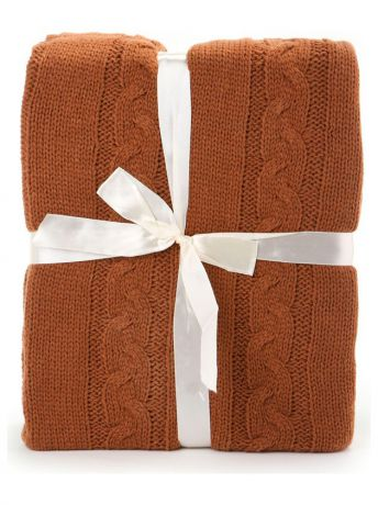 "Пледы Cite Marilou Плед 130*150 СМ ""Knit"" KnitT-Brown"