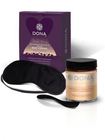 Интимная косметика SYSTEM JO Карамель для тела DONA Body Topping Honeysuckle