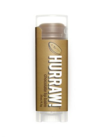 Бальзамы HURRAW! Бальзам для губ Hurraw! Chocolate Lip Balm