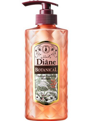 Шампуни Moist Diane Series Шампунь для волос Moist Diane Botanical Damage Repairing. Природное восстановление.