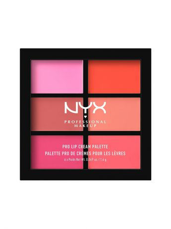 Помады NYX PROFESSIONAL MAKEUP Палетка помады для губ. PRO LIP CREAM PALETTE - PINKS 01