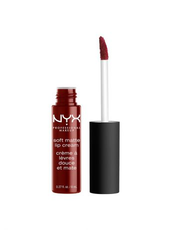 Помады NYX PROFESSIONAL MAKEUP Матовая жидкая помада-крем. SOFT MATTE LIP CREAM - MADRID 27
