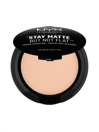 Пудры NYX PROFESSIONAL MAKEUP Тональная основа-пудра STAY MATTE BUT NOT FLAT POWDER FOUNDATION - NATURAL 03